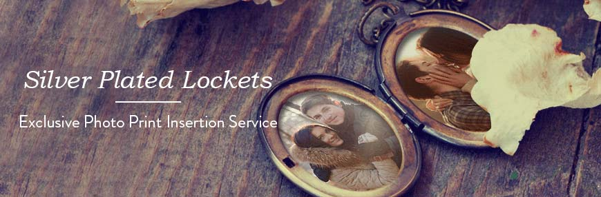 Silver Plated Lockets
