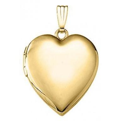 Lorraine 3/4 Gold Filled Heart Locket