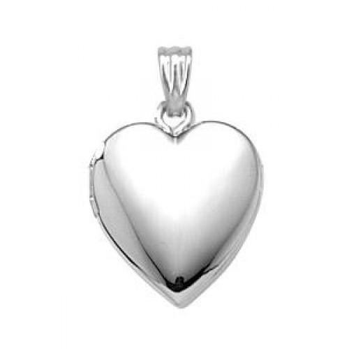 Sterling Silver Baby Heart Locket
