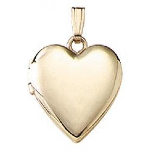 14k Gold Filled Heart Baby Locket