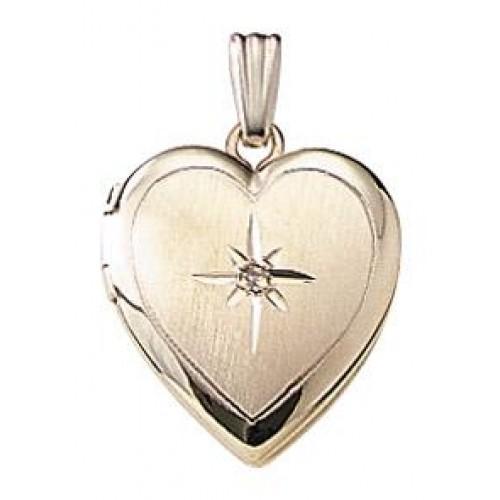 Janet Heart Goldfilled Locket