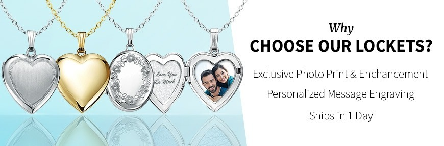 Sterling Silver Lockets