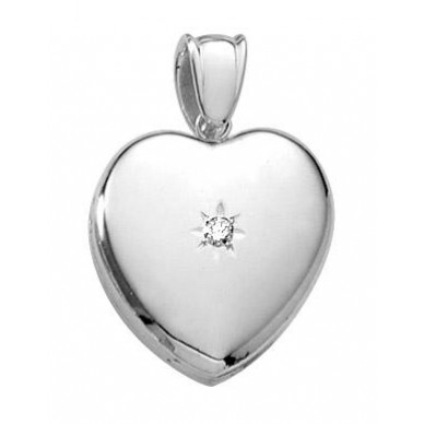 Mrs Potter 14k White Gold Locket