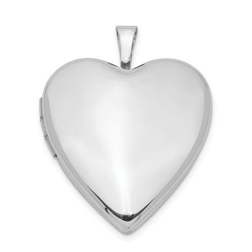 Sterling Silver Heart Locket - Linda