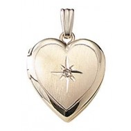 Janet Heart Goldfilled Locket