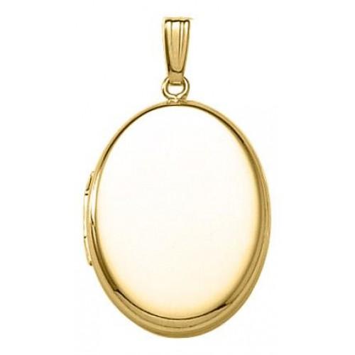 Riley 14K Yellow Gold Oval Locket